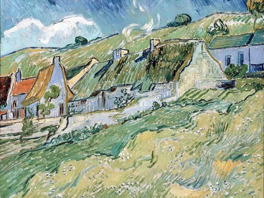 البيوت الريفية   فنسنت فان جوخ