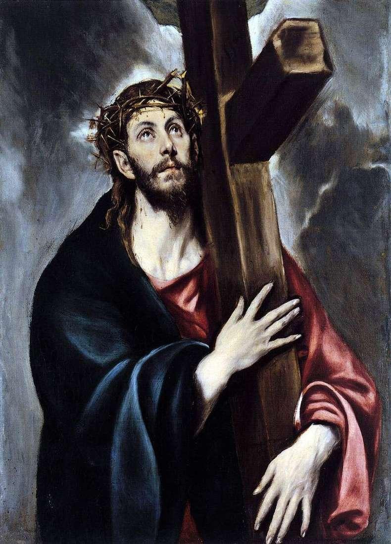 المسيح يحمل الصليب   جريكو