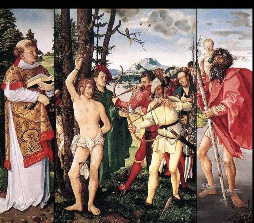مذبح القديس سيباستيان   هانز بالدونج
