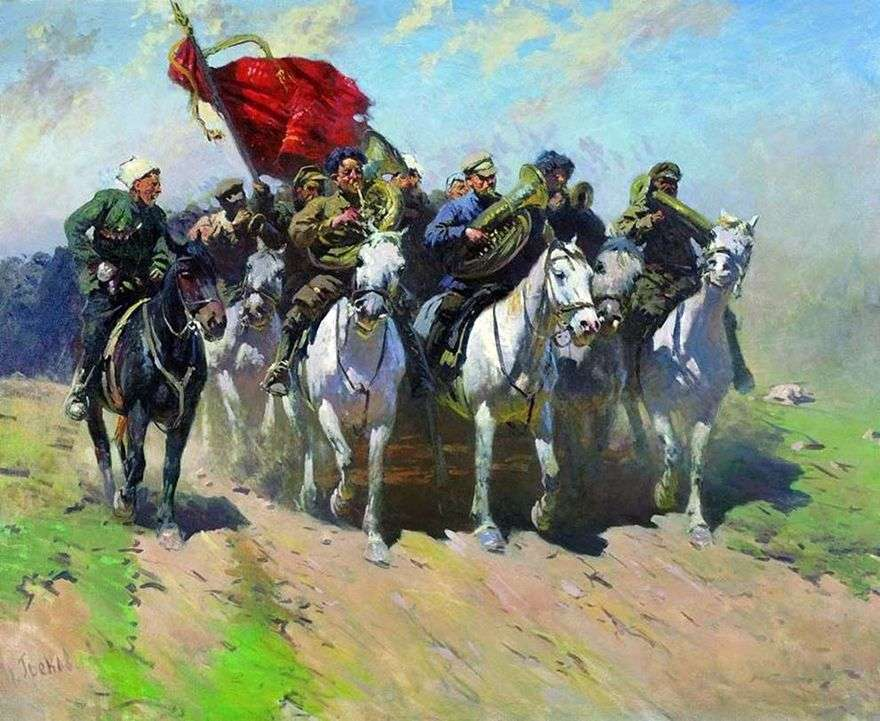 أبواق للجيش أول الخيالة   ميتروفان جريكوف