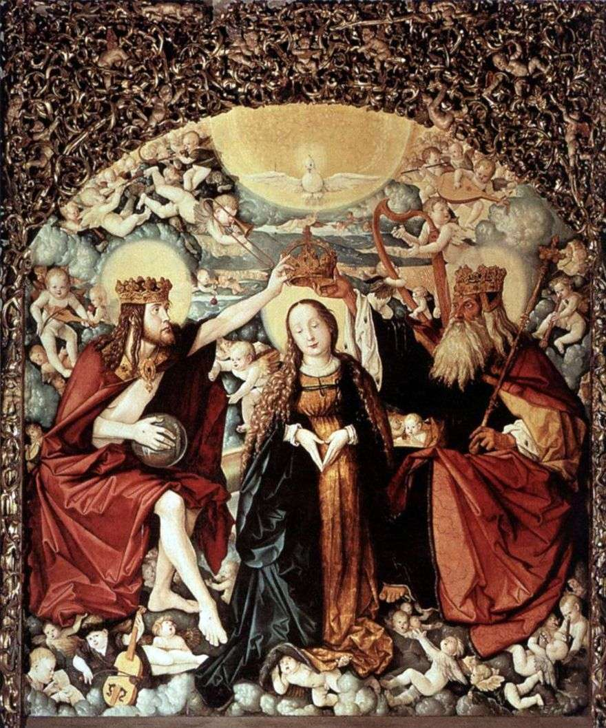 المذبح الرئيسي لكاتدرائية فرايبورغ هو هانز بالدونج