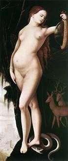 الحكمة (امرأة ذات مرآة وثعبان)   هانز بالدونج