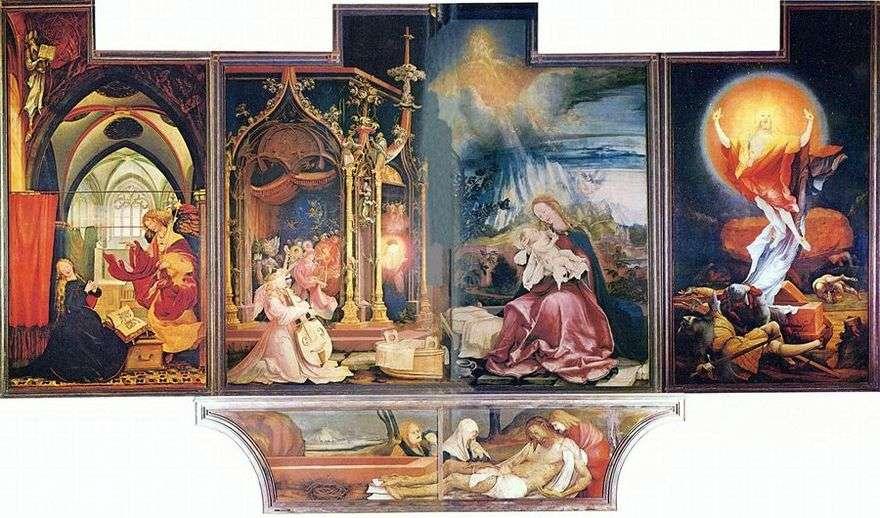 Isenheim Altar ، الاجتياح الثاني   Matthias Grunewald