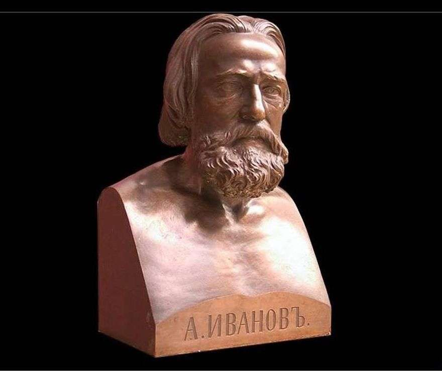 تمثال نصفي أ. إيفانوفا   لويجي غولييلمي