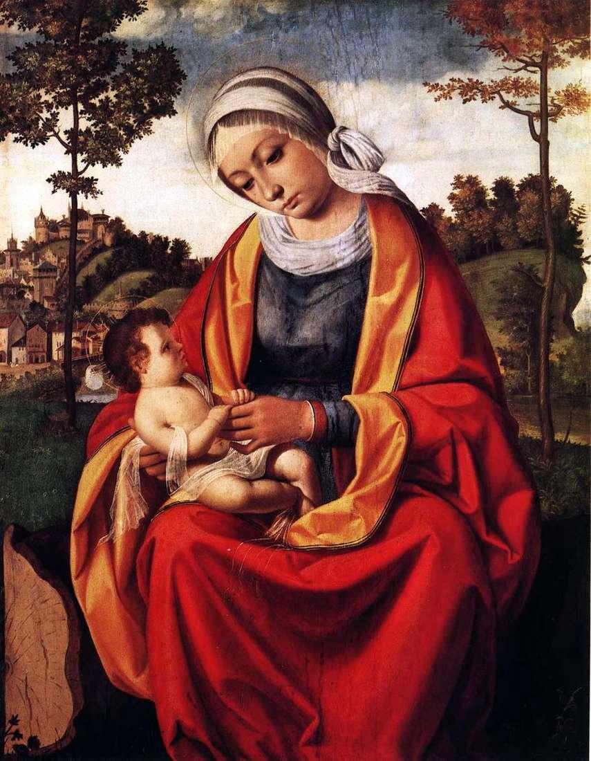 ماري والطفل   اندريا Previtali