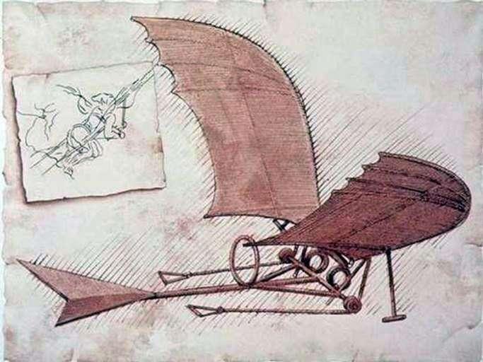 طائرة   ليوناردو دا فينشي