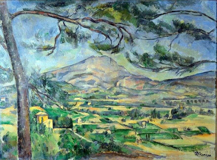 جبل سانت فيكتوريا   بول سيزان