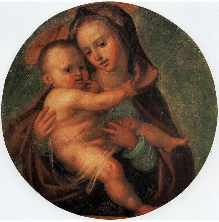 مادونا والطفل   فرا بارتولوميو