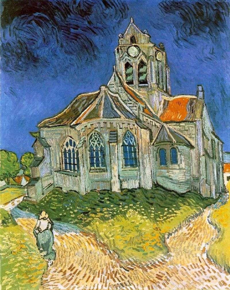 كنيسة في أوفيرز   فنسنت فان جوخ
