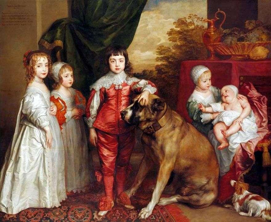 أطفال كارل   أنتوني فان دايك