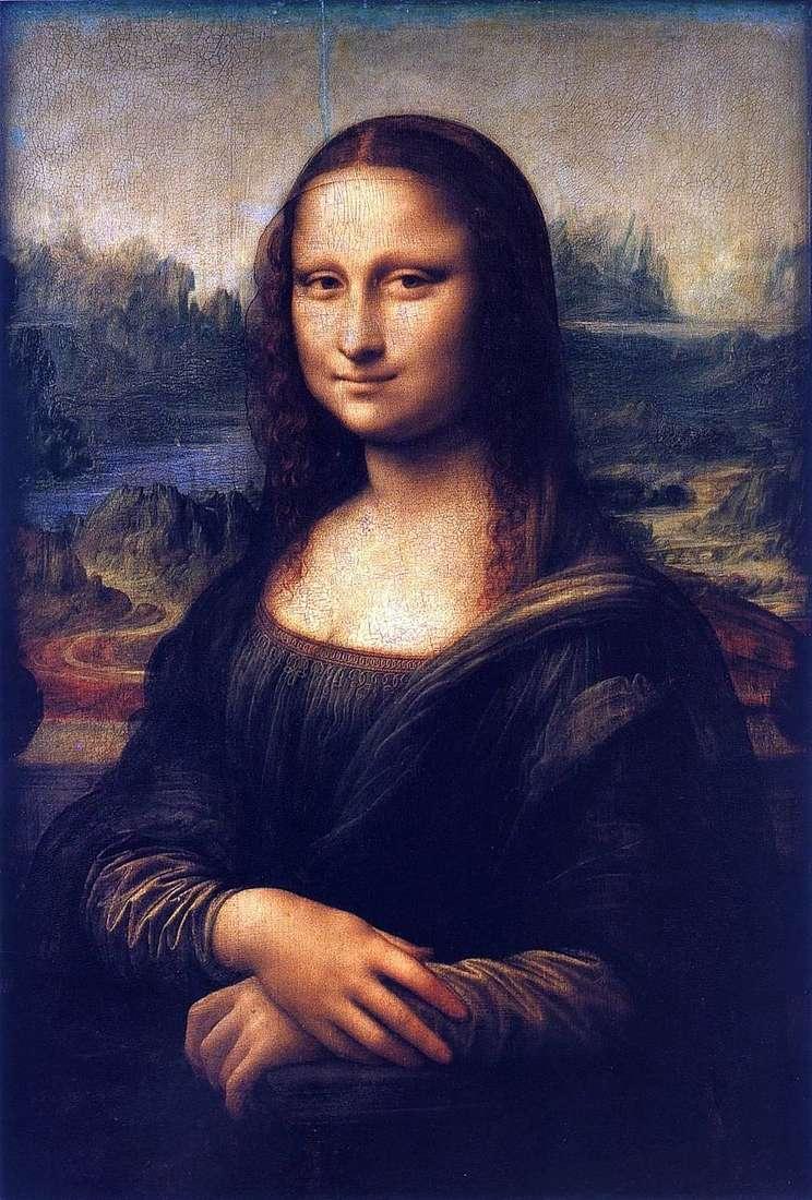 الموناليزا أو جيوكوندا   ليوناردو دافنشي