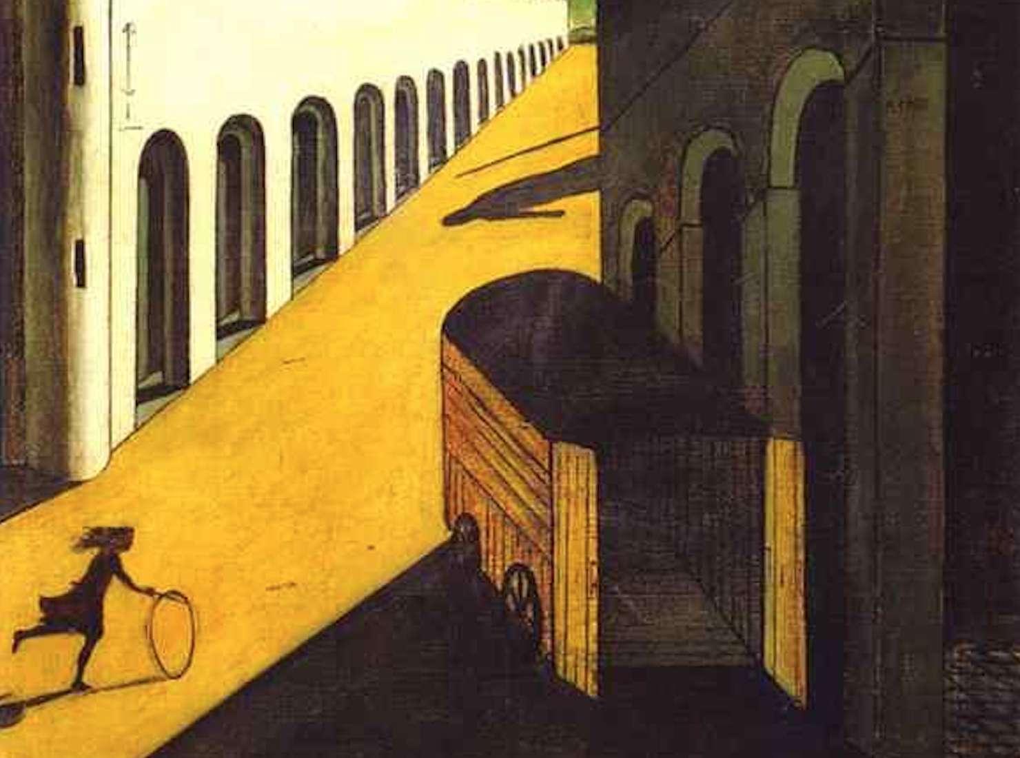 الكآبة وسر الشارع   جورجيو دي شيريكو