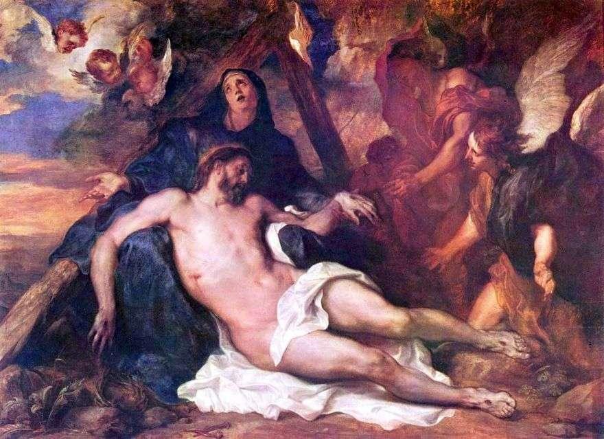 رثاء المسيح   أنتوني فان دايك