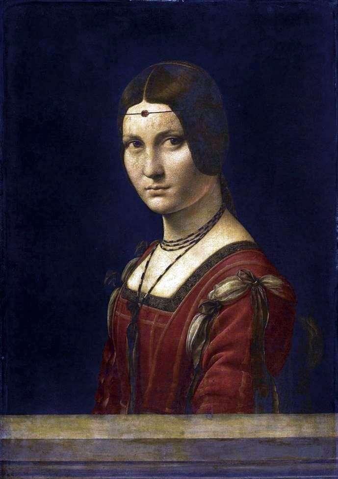 فيرونيرا الجميلة   ليوناردو دافنشي
