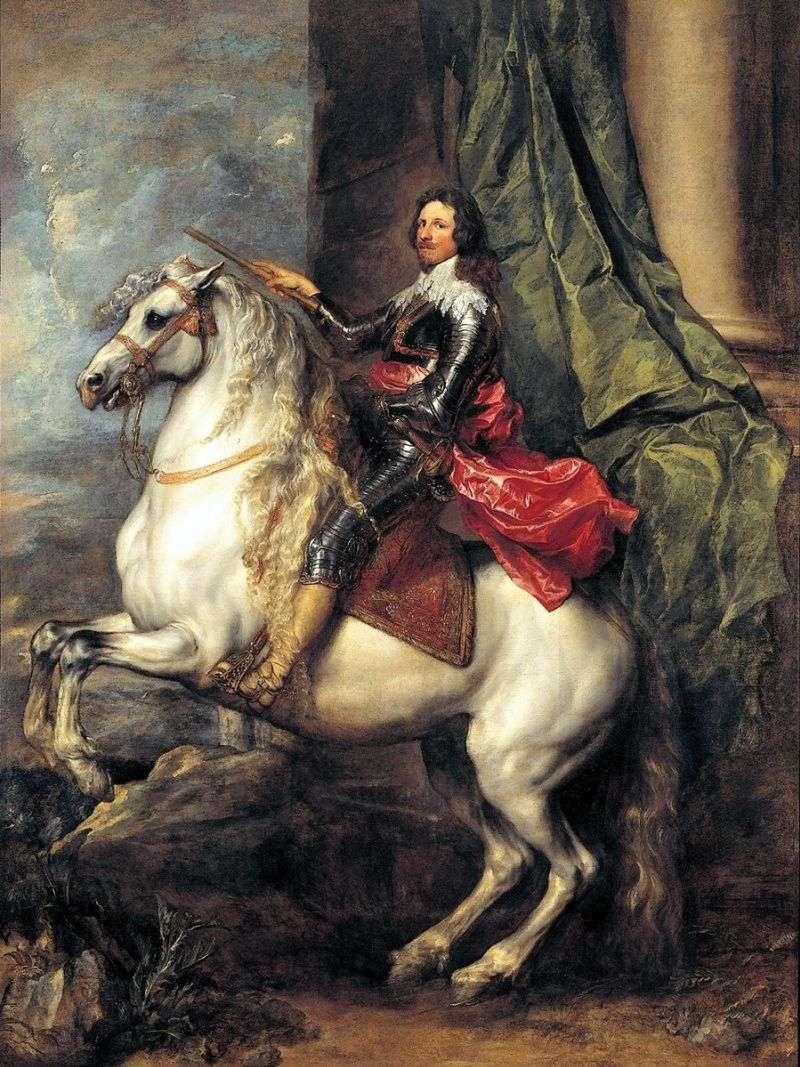 الأمير توماسو فرانشيسكو دي سافوي كارينيان   أنتوني فان دايك