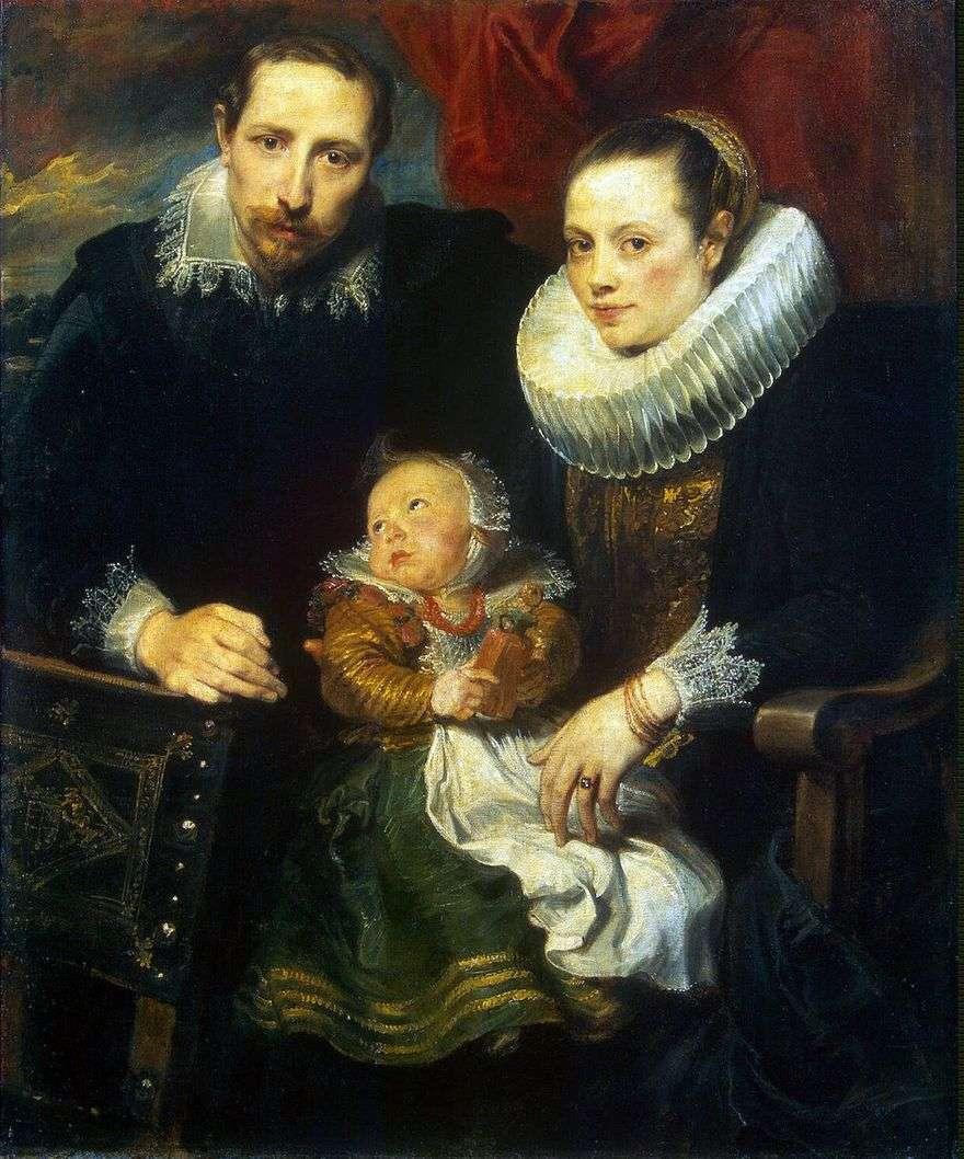 صورة العائلة   أنتوني فان دايك