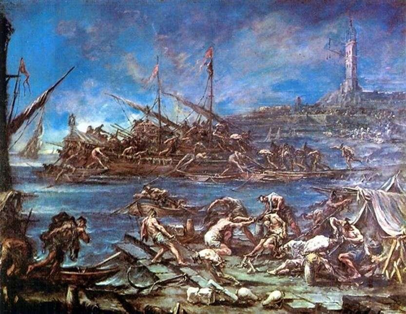 الهبوط على القوارب   اليساندرو ماغناسكو