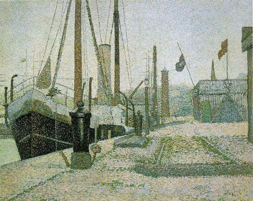 ميناء في هونفلور   جورج سيفر