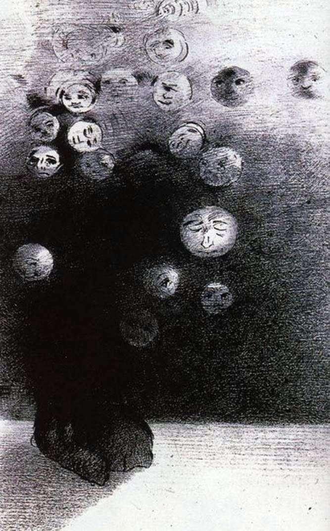 الطباعة الحجرية   أوديلون ريدون