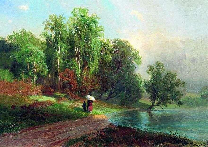 الصيف. نهر في سيلو الأحمر   فيدور فاسيلييف