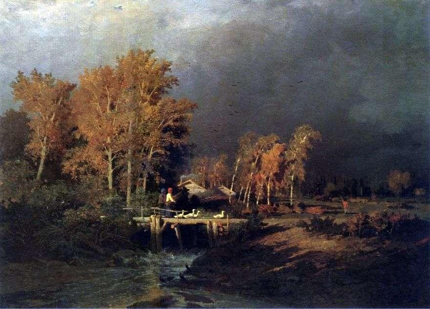 قبل المطر   فيدور فاسيلييف