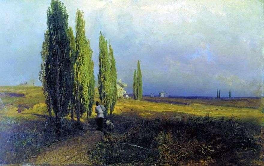 أشجار الحور   فيدور فاسيلييف