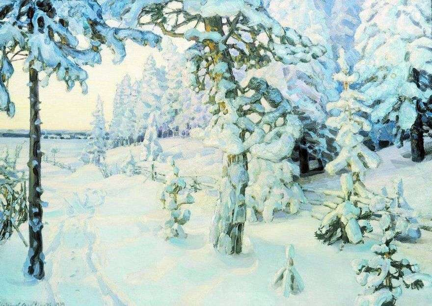 حلم الشتاء   Apollinary Vasnetsov