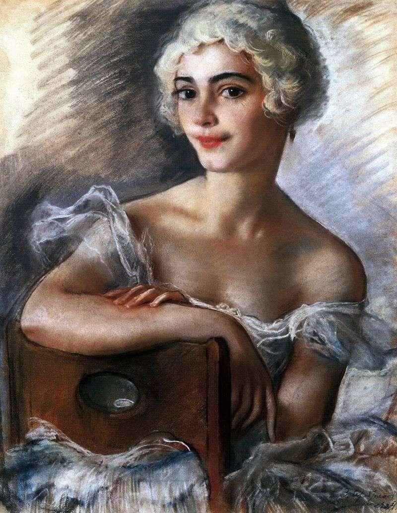 صورة ل E. N. Heidenreich في لمة بيضاء   Zinaida Serebryakova