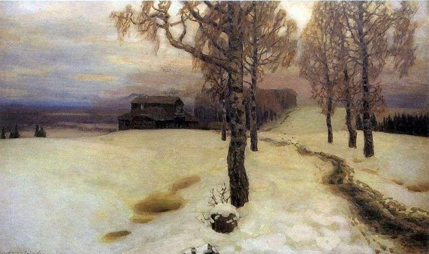 ذوبان الجليد   Apollinary Vasnetsov