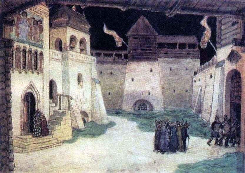 المنطقة المحاصرة Kitezh   Apollinary Vasnetsov