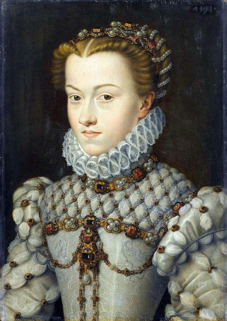 الأميرة إليزابيث النمساوية   فرانسوا كلويت