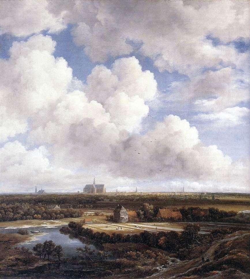 منظر هارلم   يعقوب فان رويسدال
