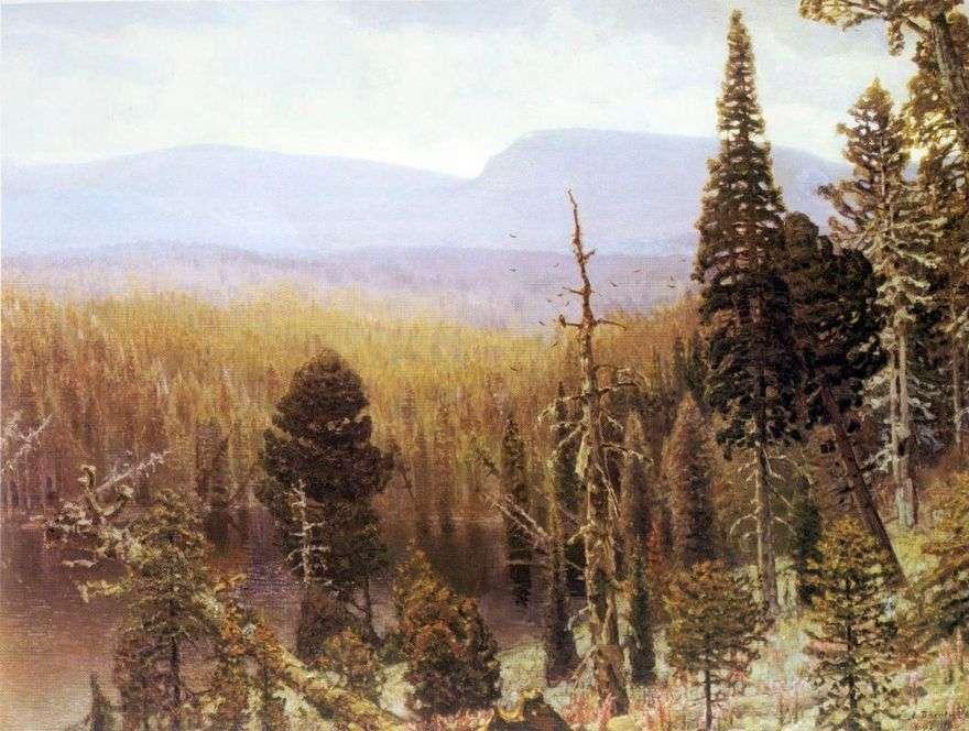 تايغا في جبال الأورال. الجبل الأزرق   Apollinary Vasnetsov