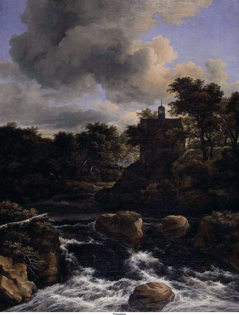 الشلال في الغابة   يعقوب فان Ruisdal
