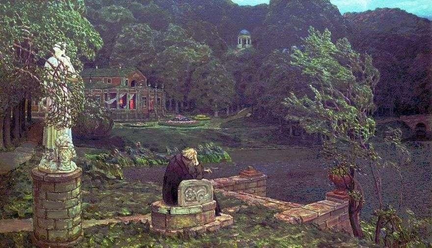 ضجة الحديقة القديمة   Apollinary Vasnetsov