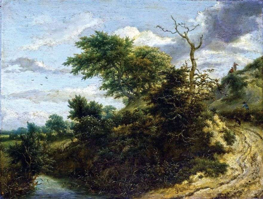 الطريق في الكثبان الرملية   يعقوب فان Ruisdal