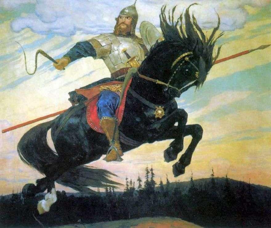 و Bogatyrsky سكوك   فيكتور Vasnetsov