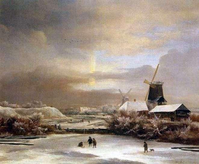 مشهد الشتاء   جاكوب فان روسدال
