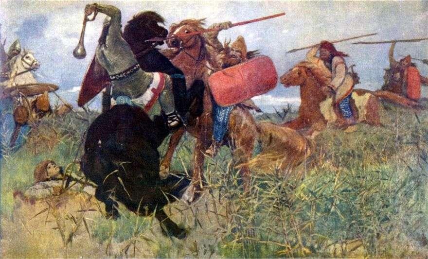 معركة السكيثيين مع السلاف   فيكتور فاسنيتسوف