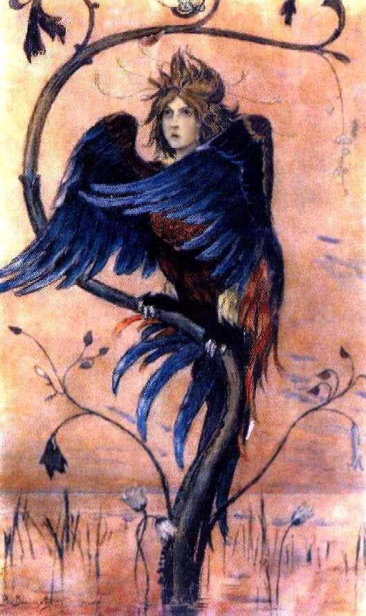 Gamayun ، طائر الحرب   فيكتور Vasnetsov