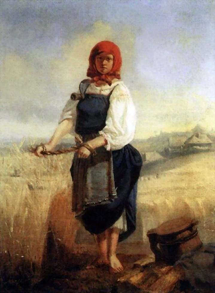 حصادة   فيكتور فاسنتسوف