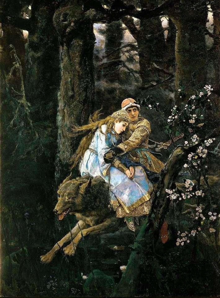 إيفان تساريفيتش على الذئب الرمادي   فيكتور فاسنيتسوف