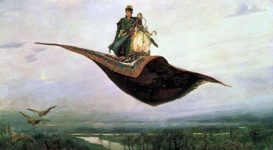 السجاد الطائرة   فيكتور Vasnetsov