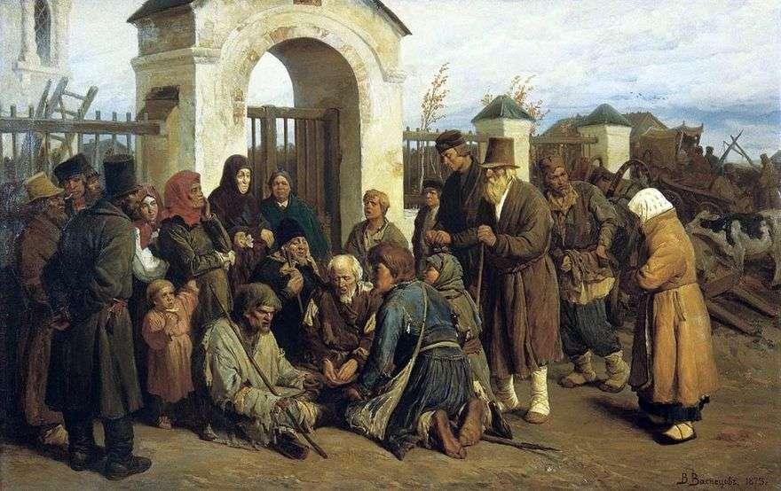 المتسولين المطربين (الحجاج)   فيكتور Vasnetsov