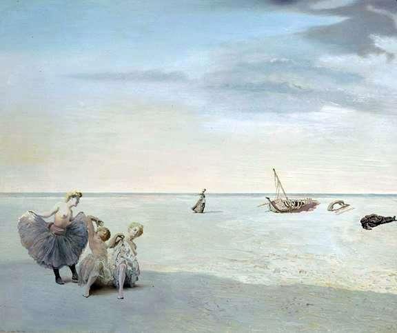 الأفق المنسي   سلفادور دالي