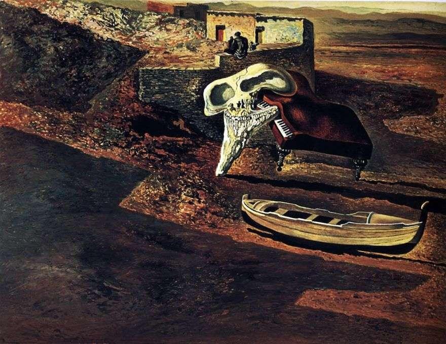الجمجمة تبخرت اللواط البيانو على رمز   سلفادور دالي