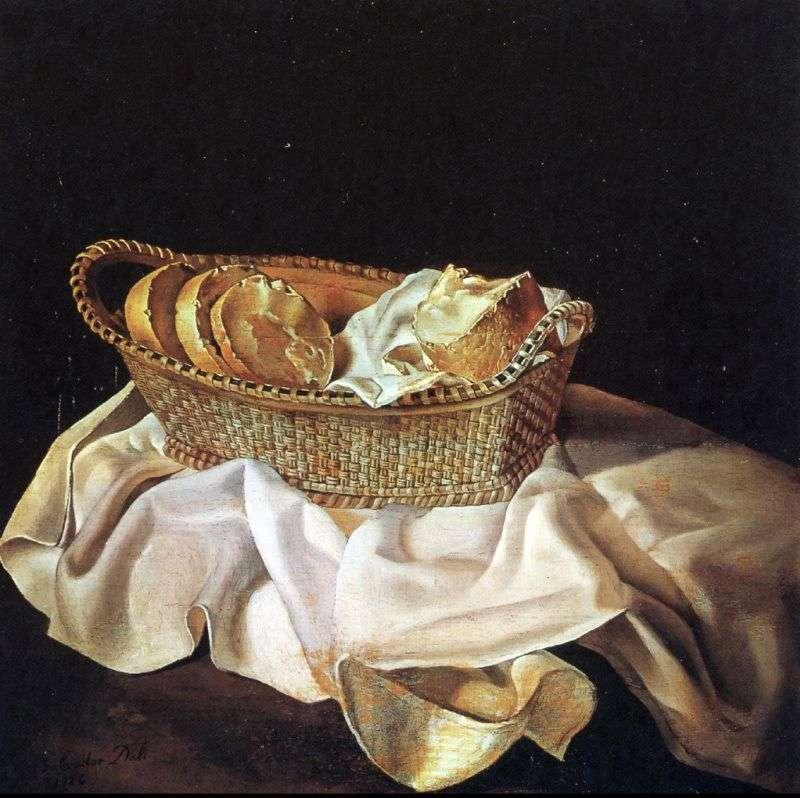 سلة الخبز   سلفادور دالي
