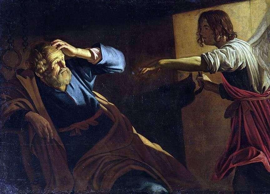 الافراج عن sv. بترا   جيريت فان هونهورست