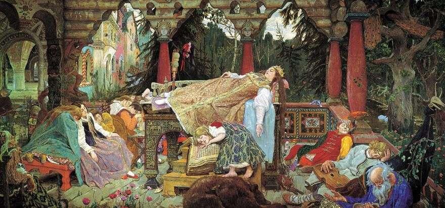 حكاية الأميرة النائمة   فيكتور Vasnetsov