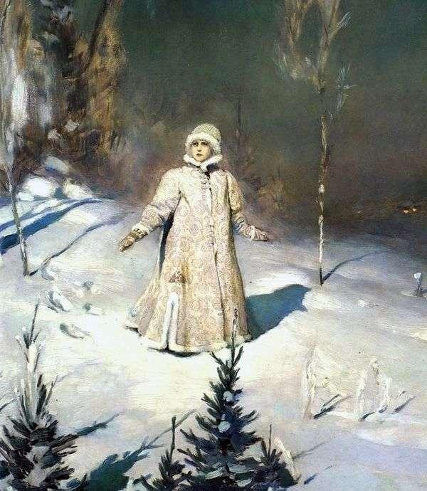 الثلوج البكر   فيكتور Vasnetsov